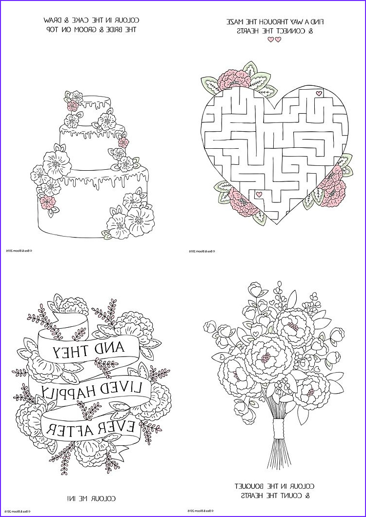 Wedding Coloring Pages Free Awesome Stock Free Download Printable Wedding Colouring Sheets for Kids