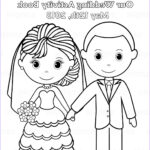 Wedding Coloring Pages Free Beautiful Photos Printable Personalized Wedding Coloring Activity By