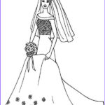 Wedding Dress Coloring Pages Beautiful Photos 39 Collection Of Barbie Free Coloring Pages Gianfreda