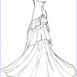 Wedding Dress Coloring Pages Best Of Stock Dress Coloring Pages Coloringsuite