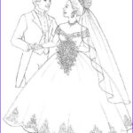 Wedding Dress Coloring Pages Luxury Gallery Wedding Dress Coloring Pages Coloring Home