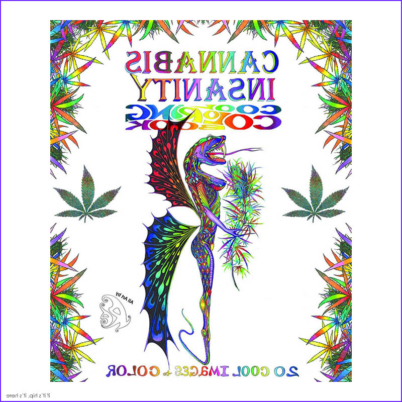 Weed Coloring Books Beautiful Image the Best Coloring Books for Grown Ups Round Up Part Iv