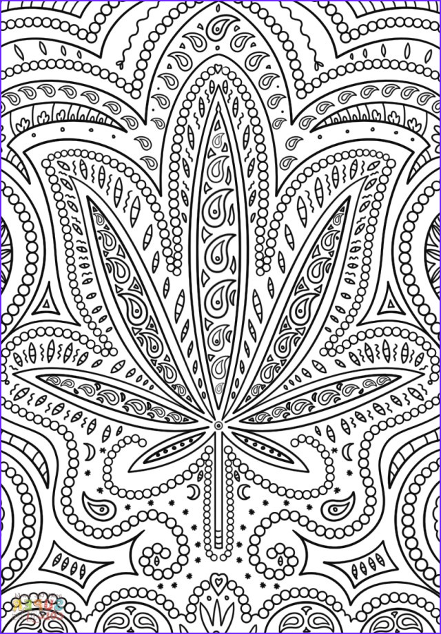 Weed Coloring Books Beautiful Photos 25 Awesome Of Weed Coloring Pages Birijus