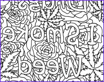 Weed Coloring Books Beautiful Photos Stoner Coloring Book