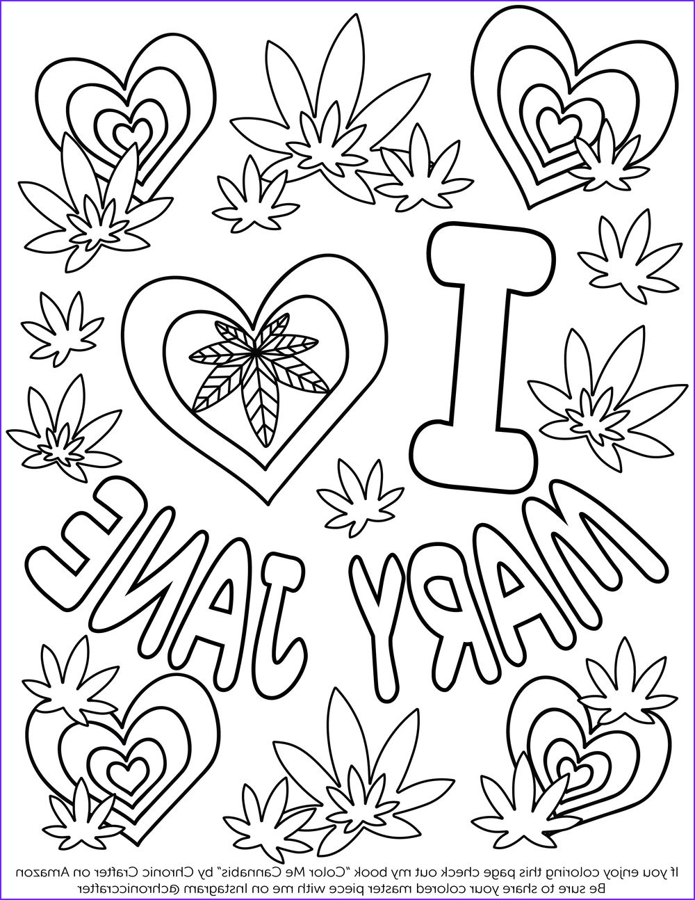 Weed Coloring Books Cool Photography Valentine S Day Free Coloring Page — Chronic Crafter