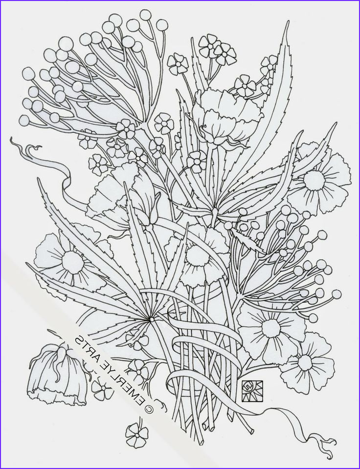 "Weed Coloring Books Cool Photos ""weedy Friends"" An Adult Coloring Page In Honor Of 4 20"