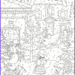 Winter Coloring Pages Adults Best Of Images Freebie Winter Coloring Pages – Stamping