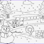 Winter Coloring Pages Adults Elegant Stock Winter Landscape Coloring Pages – Colorings