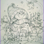Winter Coloring Pages For Adults Best Of Images Coloring For Adults Kleuren Voor Volwassenen