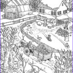 Winter Coloring Pages For Adults Best Of Images Difficult Hidden Pictures Printables Jetdigitalprinting