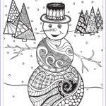 Winter Coloring Pages For Adults Cool Photos Zendoodle Coloring Winter Wonderland Jodi Best