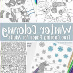 Winter Coloring Pages For Adults New Images Free Printable Winter Coloring Pages For Adults