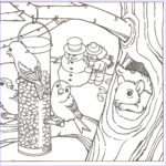 Winter Coloring Pages For Adults New Photos 1000 Images About Coloring 7 On Pinterest