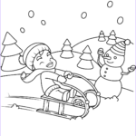 Winter Scene Coloring Pages Beautiful Image Free Printable Winter Coloring Pages For Kids