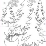 Winter Scene Coloring Pages Beautiful Photos Free Winter Coloring Pages And Crafts