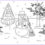 Winter Scene Coloring Pages Elegant Photos 75 Best Christmas Coloring Pages Images On Pinterest