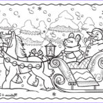 Winter Scene Coloring Pages Inspirational Photography Here To Our New Winter Sleigh Ride