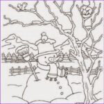 Winter Scene Coloring Pages Luxury Photos Sketches Winter Scenes Coloring Pages