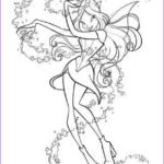 Winx Club Coloring Pages Beautiful Stock Winx Club Fairy Coloring Pages Hellokids
