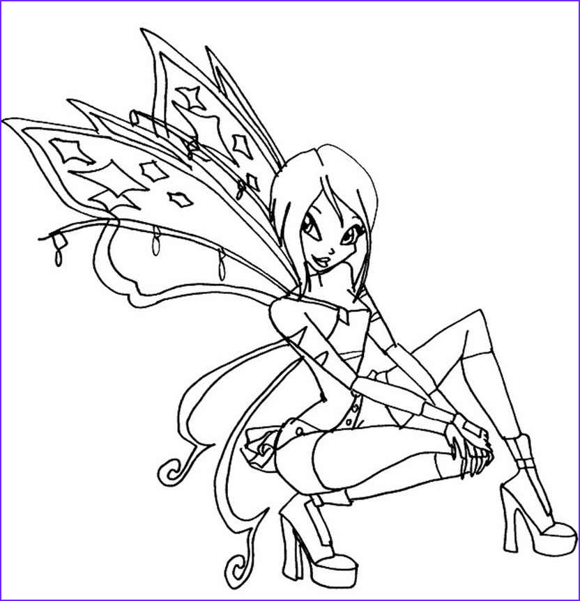Winx Club Coloring Pages Cool Photos Winx Believix Coloring Pages to and Print for Free