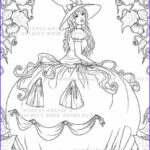 Witch Coloring Pages For Adults Cool Photography 17 Best Images About Witch Coloring On Pinterest