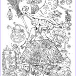 Witch Coloring Pages For Adults Elegant Stock Pin By Heather H On Halloween In 2018 Pinterest