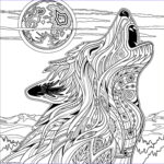 Wolf Coloring Pages Best Of Collection Print Wolf For Adult Coloring Pages Colour In