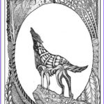 Wolf Coloring Pages For Adults Awesome Photos 17 Best Images About Animals Coloring Pages For Adults On