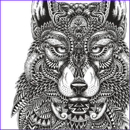 Wolf Coloring Pages for Adults Beautiful Collection Pin by Sherri Williamson On Colouring for Adults