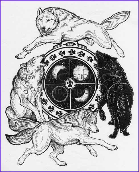 Wolf Coloring Pages for Adults Beautiful Gallery Wiccan Coloring Pages