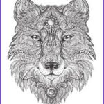 Wolf Coloring Pages For Adults Beautiful Photos Art Meditation Therapy 18 Free Coloring Pages For Adults