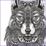 Wolf Coloring Pages For Adults Best Of Images 17 Best Images About Coloring On Pinterest