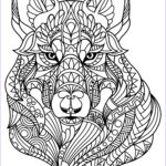 Wolf Coloring Pages For Adults Best Of Photography Free Book Wolf Wolves Adult Coloring Pages
