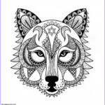 Wolf Coloring Pages For Adults Cool Image Get This Wolf Coloring Pages For Adults