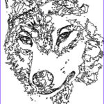 Wolf Coloring Pages For Adults Cool Images Animal Coloring Pages Wolf