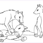 Wolf Coloring Pictures Beautiful Photos Free Printable Wolf Coloring Pages For Kids