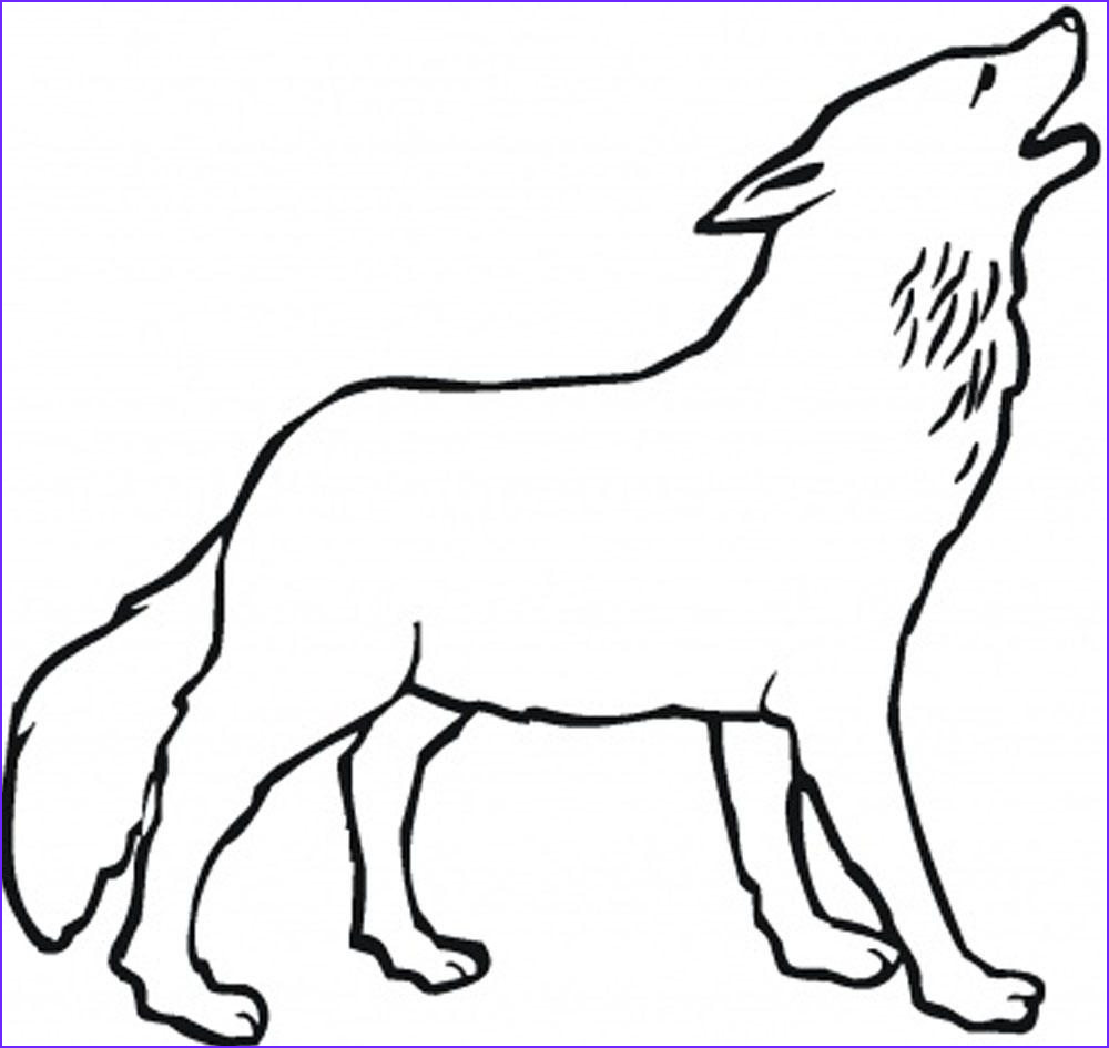 wolf coloring pages theme