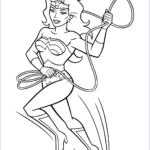 Wonder Woman Coloring Book Cool Photos Wonder Woman With Lasso Of Truth Coloring Page