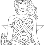 Wonder Woman Coloring Book New Photography Wonder Woman Portrait Coloring Page