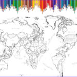 World Map Coloring Page Awesome Gallery World Map Coloring Page Printable World Map Scrapbook Size
