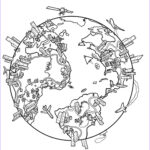 World Map Coloring Page Awesome Images Pin By Yaiza Vidal On Art Class