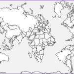 World Map Coloring Page Cool Photos Printable World Map Coloring Page For Kids
