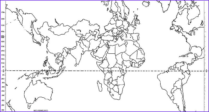 world map coloring pages