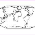 World Map Coloring Page New Stock World Map For Education Coloring Page Download & Print