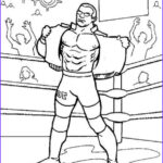 Wwe Coloring Books Awesome Collection Free Coloring Page Wwe Wrestling Line Printable