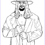 Wwe Coloring Books Luxury Collection Wrestler The Undertaker Coloring Pages Hellokids
