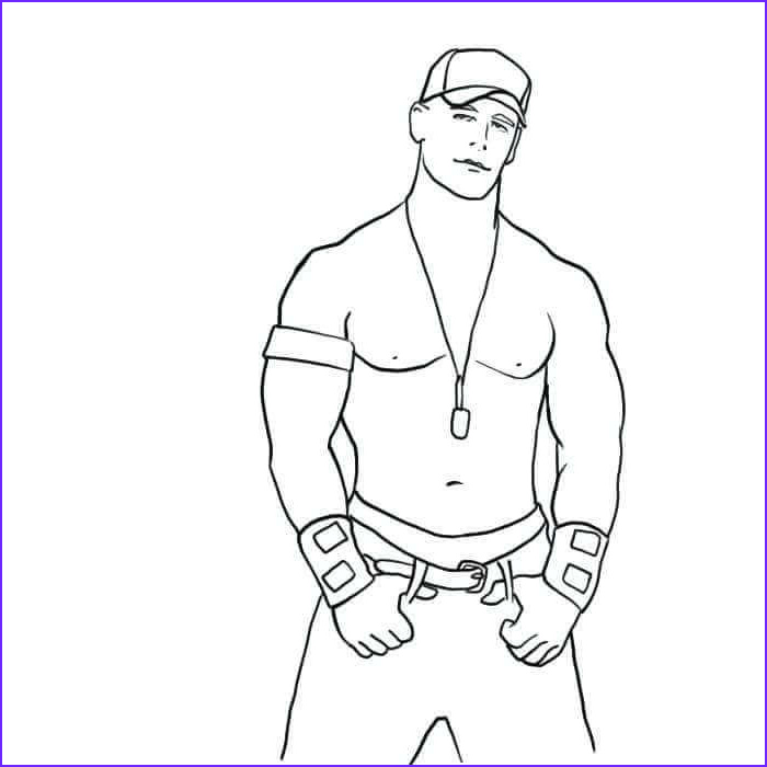 Wwe Coloring Pages Beautiful Collection Free Printable World Wrestling Entertainment Wwe