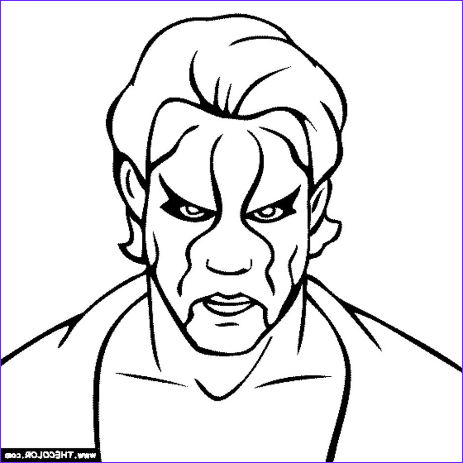 Wwe Coloring Pages Best Of Stock Wwe Coloring Pages