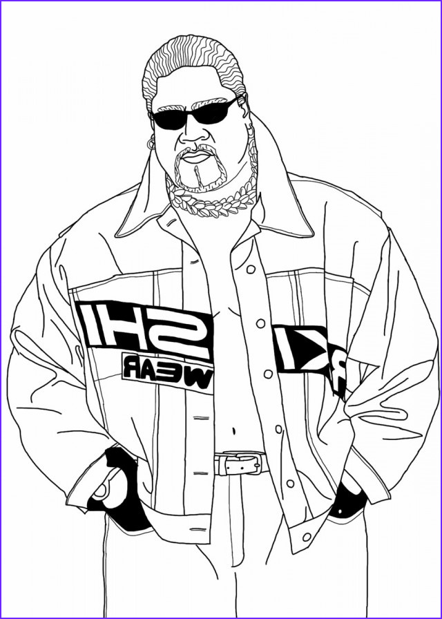 Wwe Coloring Pages Inspirational Photos Wwe Drawing at Getdrawings