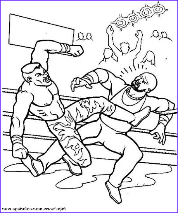 Wwe Coloring Pages New Collection Wwe Smackdown Free Printable Coloring Sheet